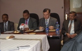 Delegation from NSIC led by Director (Fin.) visited Ethiopia.