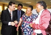 First Lady of South Africa visits NSIC